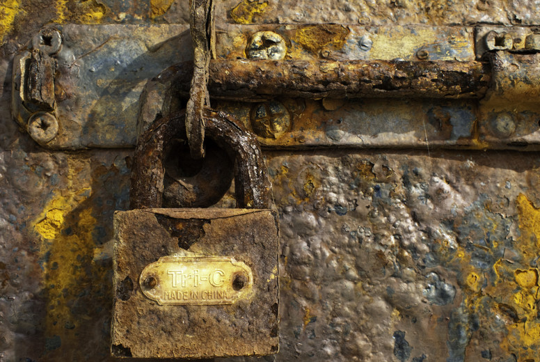 rusty lock II