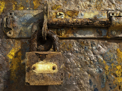 rusty lock II