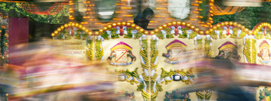 speeding carousel