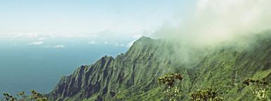 Na Pali Coast of Kauai  Hawaii