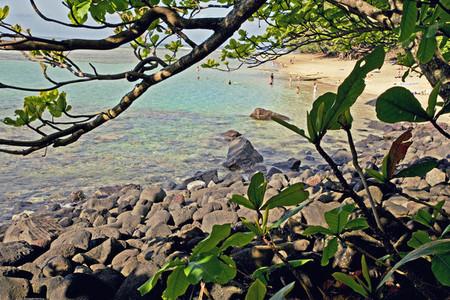 Kauaian beach