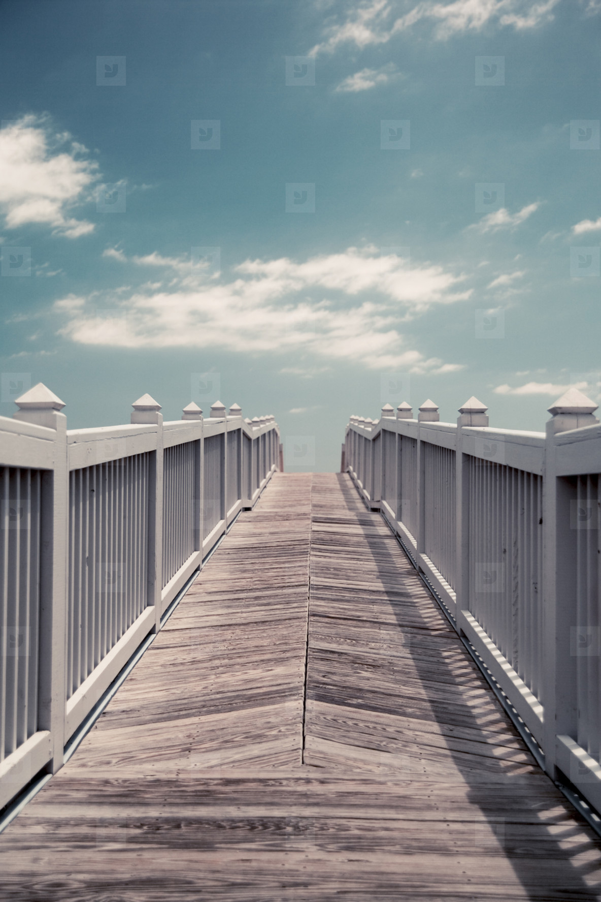 Boardwalk access to beach
