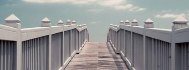 Boardwalk access to beach