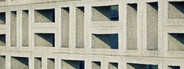 Concrete wall pattern