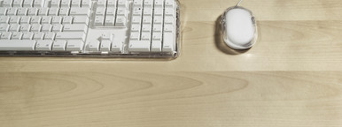 Keyboard on office desk