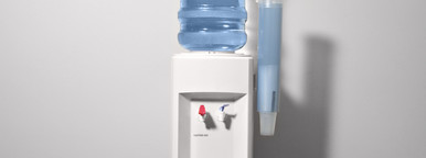 Water cooler in office