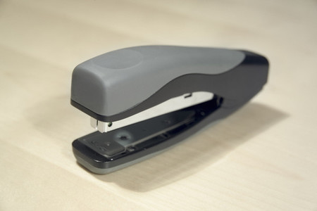 Stapler on desk