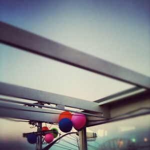 Rooftop Balloons
