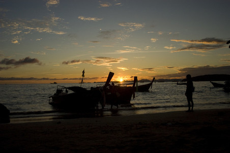 Sunset at Ao Nang