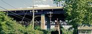 Speeding toward bridge