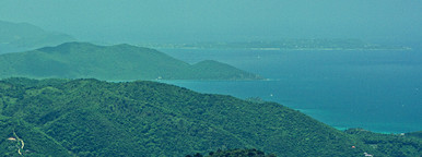 Virgin Island Tortola landscape