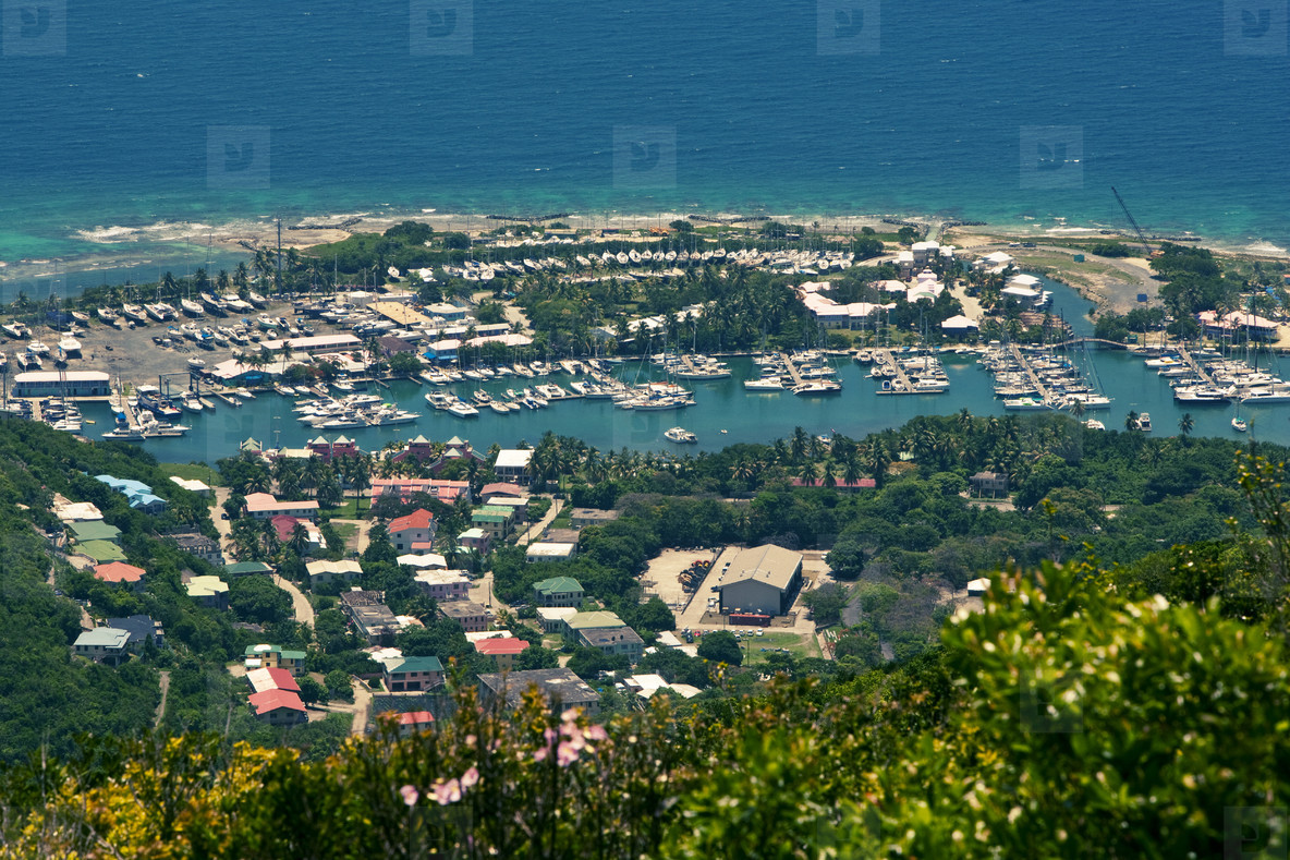 Caribbean resort beach