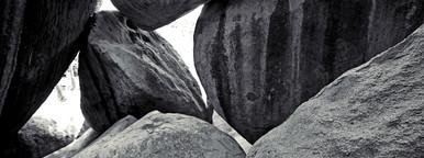 Boulders on Virgin Gorda beach