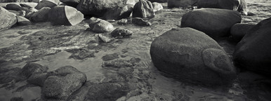 Virgin Gorda beach boulders