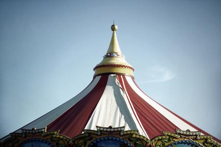 Circus tent top