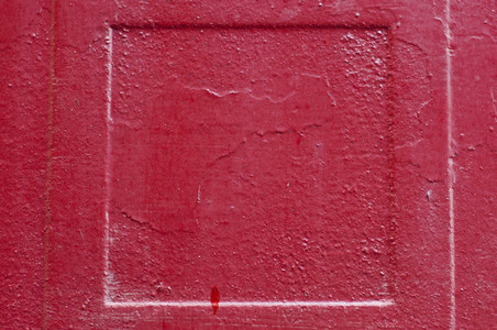 Red Weathered Square