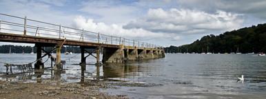 old pier at dittisham