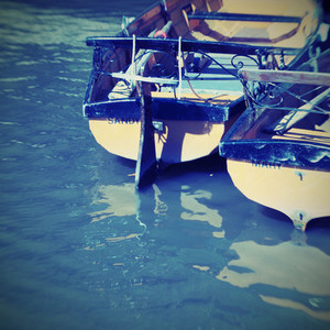 vintage row boats