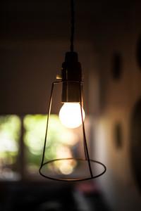 a cool light bulb fitting
