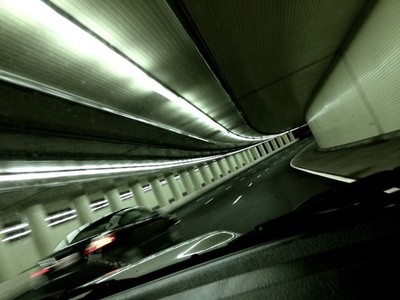 Driving Through a Tunnel