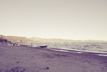 Nother Beach in Lake Tahoe Calif