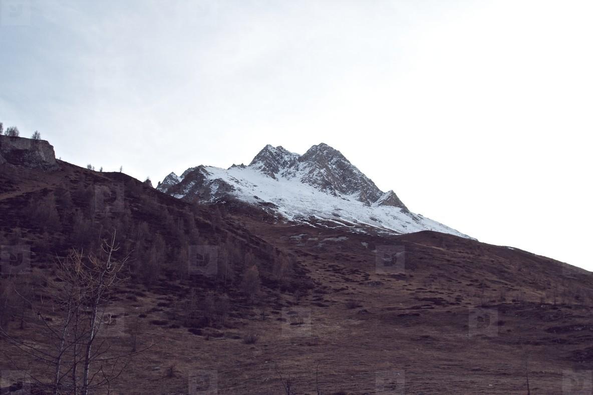 Peak in Tignes