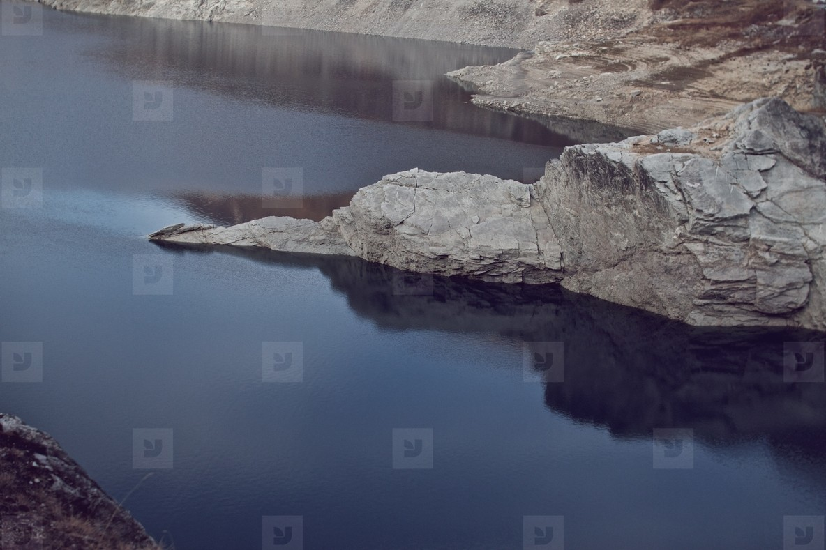 View of Lac du Chevril
