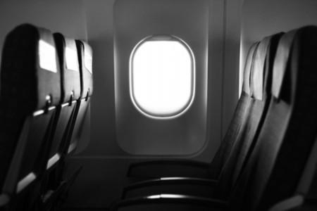 Window  seats on a plane