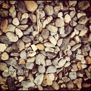 River pebbles