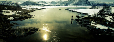 Arctic morning views