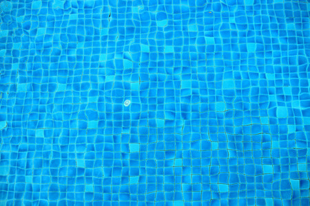 bottomed pool mosaic abstract ba