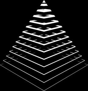 stripes vs  pyramid