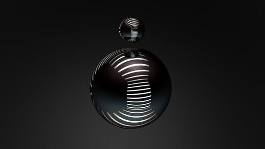chrome spheres