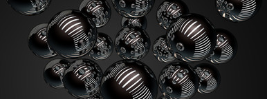 chrome spheres