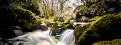 A river running