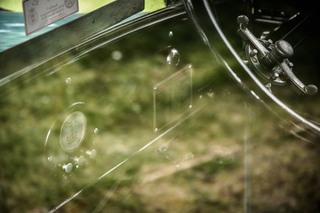 Through the windscreen