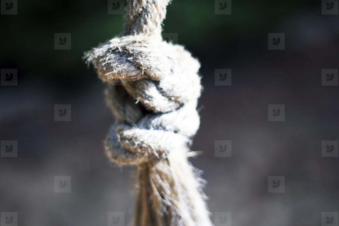 A CloseUp Of A Rope