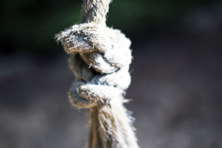A CloseUp Of A Rope