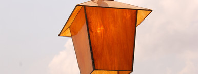 Special Yellow Orange Lamp