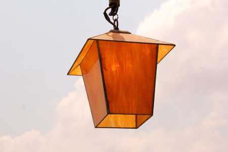 Special Yellow Orange Lamp