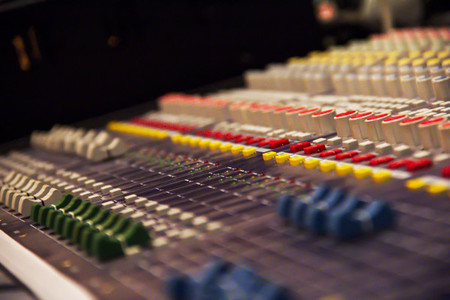 Music Console Mixer