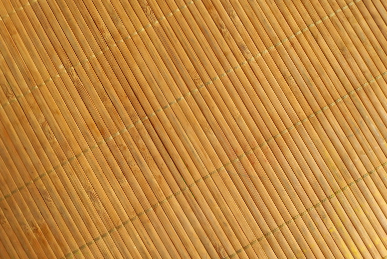Bamboo background  The mat is ma