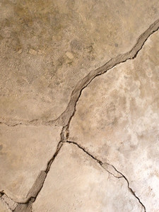 Concrete cracking background