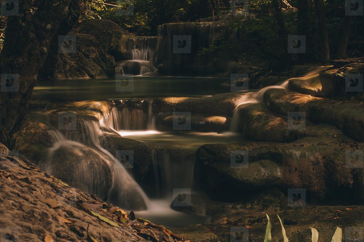 Sun Light on the Falls
