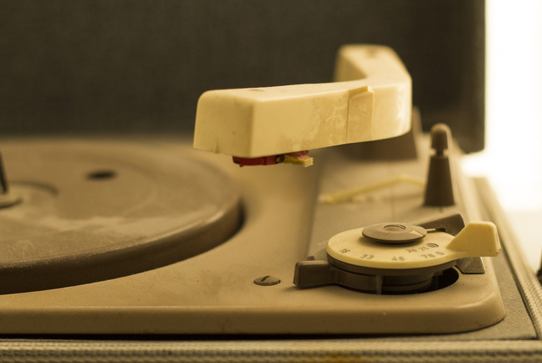 An Old Turntable