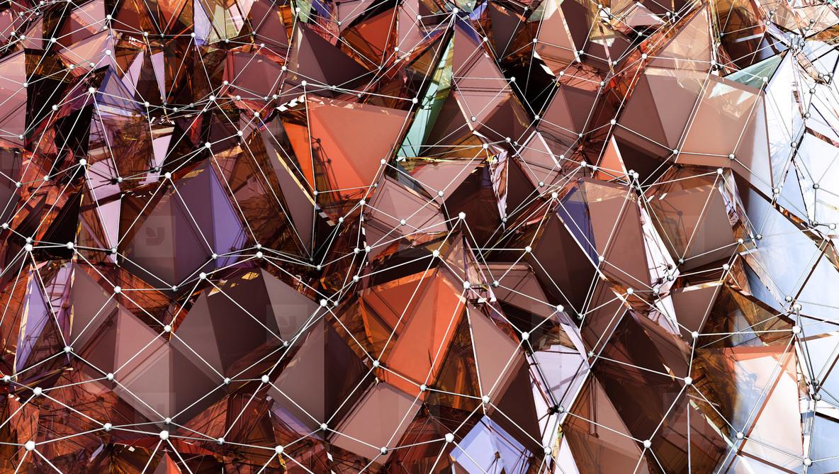 Spessartite Polygonal Surface