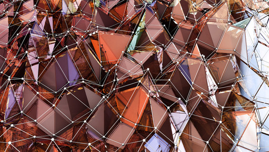 Spessartite Polygonal Surface