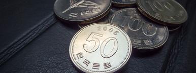 coins of korean won