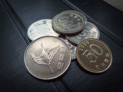 coins of korean won