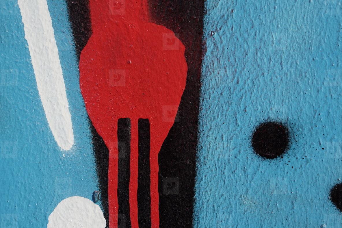 graffito cinque